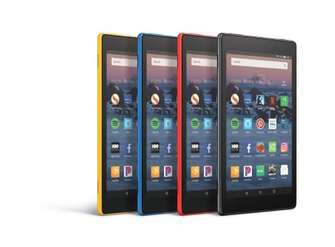 Amazon Fire HD 8 Tablet (Photo: Business Wire)