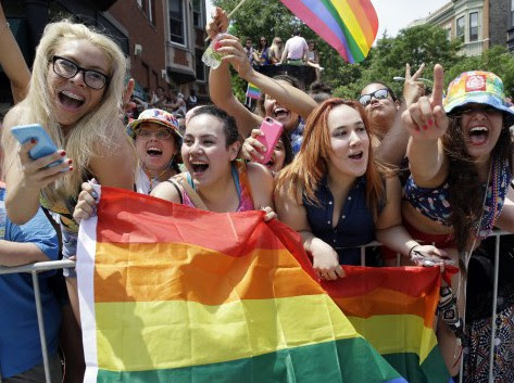 Young people seem to like gay marriage more than they like individual liberties