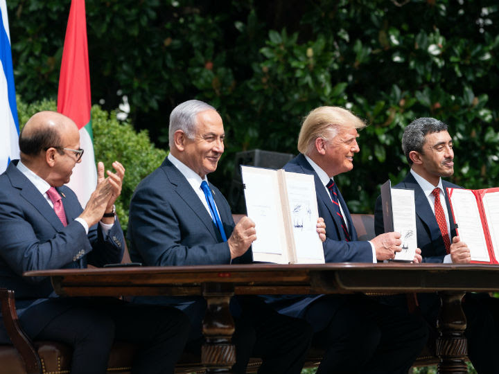 """""""The Abraham Accord is a major breakthrough in international and regional diplomacy. The establishment could also have been a great opportunity for the Palestinians to return to the negotiating table."""""""