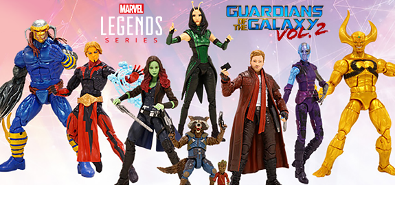 GUARDIANS OF THE GALAXY VOL. 2 MARVEL LEGENDS