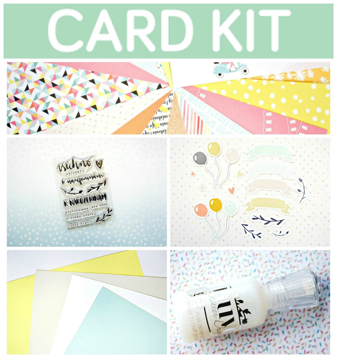 PicMonkey Collage card kit