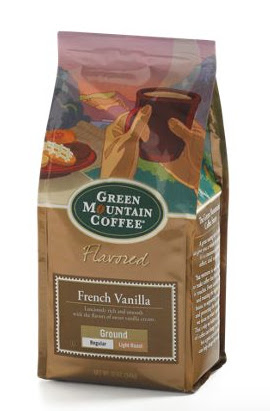 Green Mountain French Vanilla ground coffee