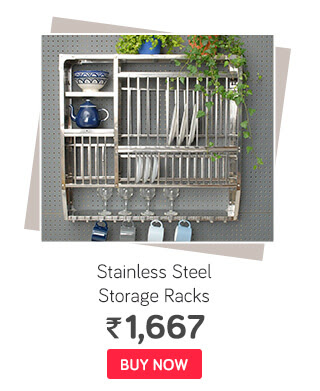 Royal Sapphire Stainless Steel Storage Racks