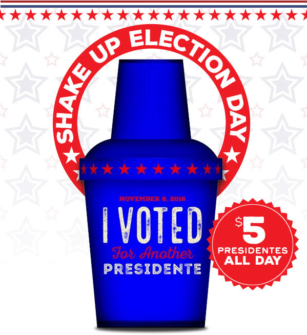 SHAKE UP ELECTION DAY