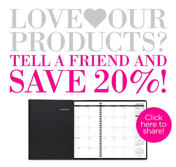 Love Our Products? Tell a Friend and Save 20%! Click Here to Share!
