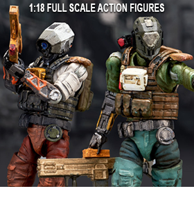 War of Order WOO In Pocket 1/18 Scale Figures