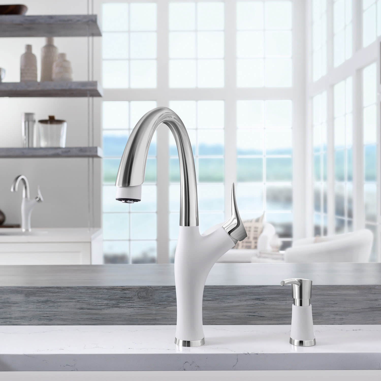 Beauty Amp Brains Blanco Ikon Kitchen Sink