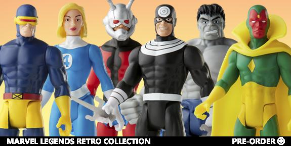 Marvel Legends Retro Collection