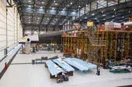 Vulcan Aerospace, the Seattle-based space investment vehicle of the Microsoft co-founder Paul Allen, is funding the creation of Stratolaunch, the world's largest plane by wingspan, being built in Mojave, Calif.