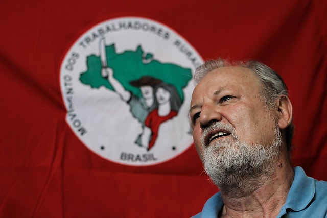 """Stedile: """"Las personas se concientizarán de que este gobierno nada tiene que ver con la nación brasileña"""" - Créditos: Rafael Stedile"""
