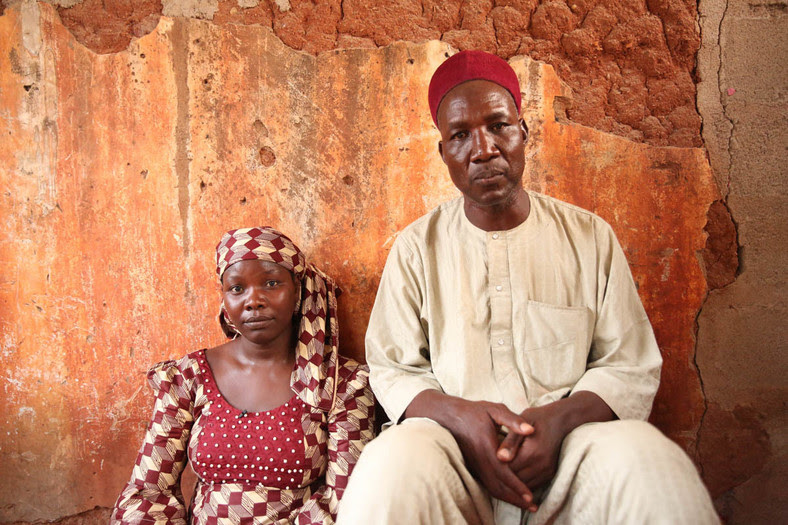 Aisha and her husband Muhammadu (AlJazeera)