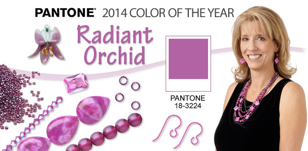 Pantone 2014 Colour of the Year: Radiant Orchid