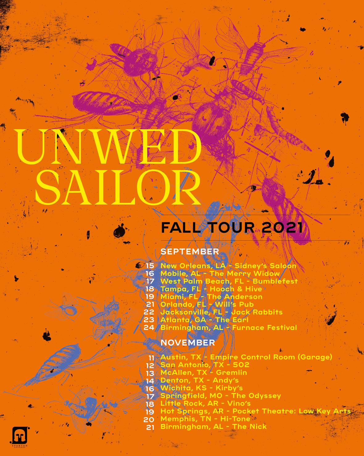 Fall Tour 2021 with Dates