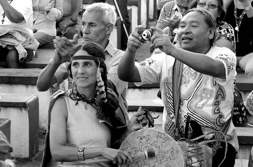 Acto en defensa del acuífero Guaraní, al sábado, en Tacuarembó. Foto: Alessandro Maradei