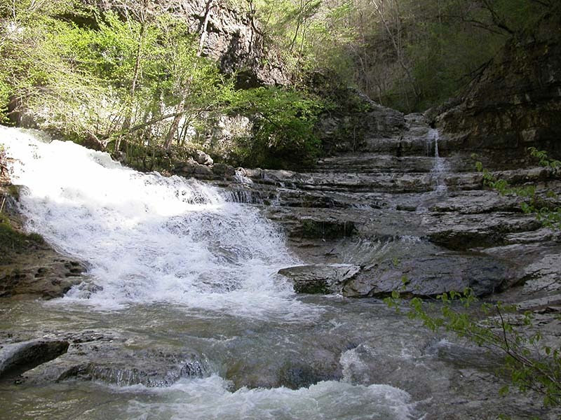 Turkey Creek at Walls of Jericho