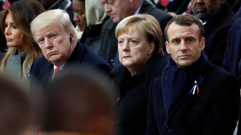 Trump arremete contra Macron: