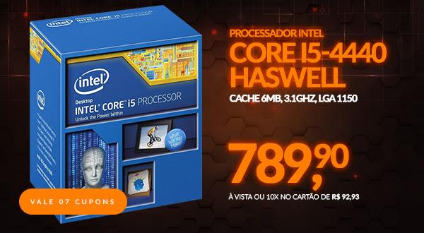 Processador Intel Core i5-4440 Haswell, Cache 6MB,