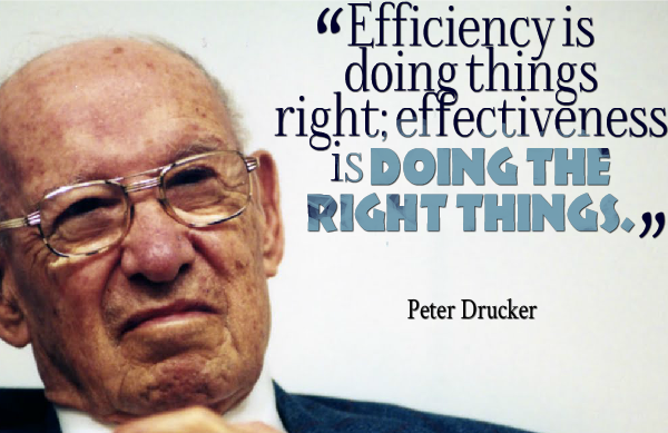 Management Wisdom from Peter Drucker, Management Guru