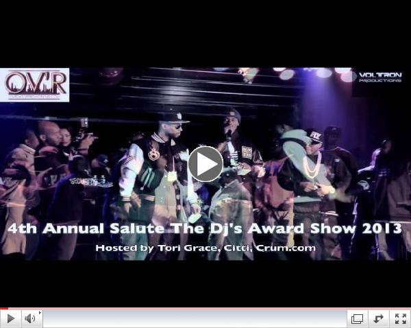 Salute The DJ's Award Show 2013 4th Annual