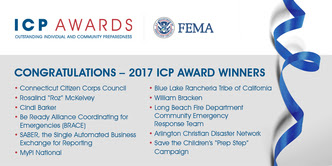 Congratulations 2017 ICP Award Winners