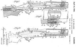 Short stroke gas piston system, patented in 1940 by David Williams, and later used in M1 carbine