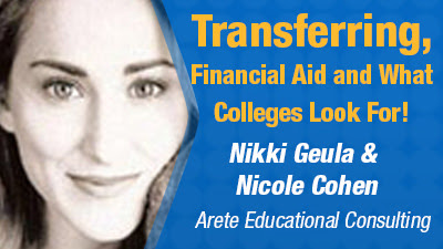 Transferring, Financial Aid and What Colleges Look For