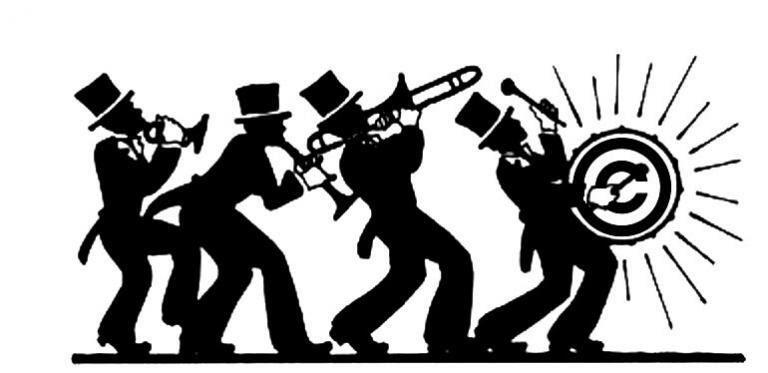 Jazz Band Clip Art copyright