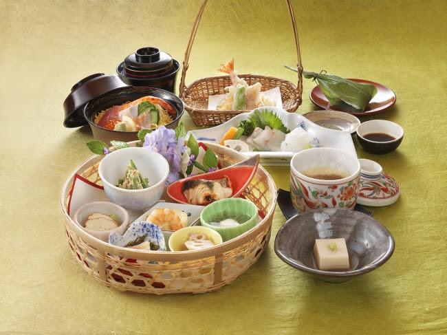 おすすめ御膳 初夏の花籠 ~お茶の京都~