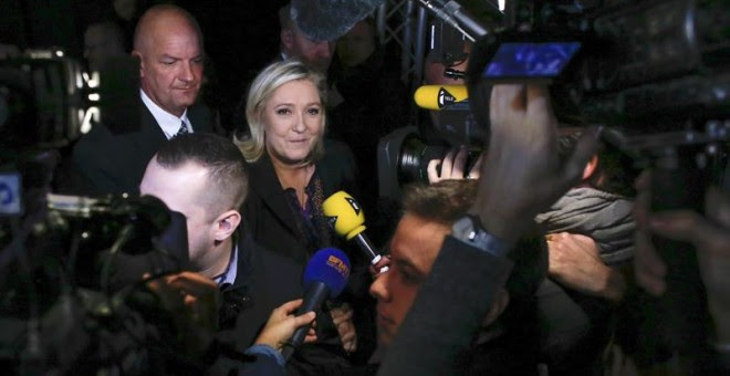 El Frente Nacional no ha conseguido el poder en ninguna región de Francia.- EFE