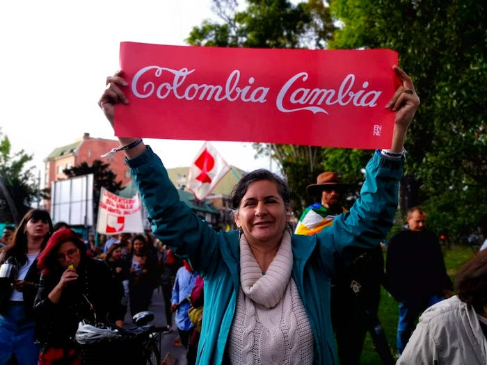 Colombia cambia