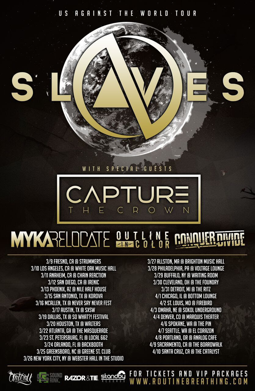 outline in color tour dates