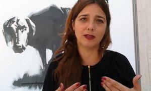 Serena Tinari, periodista de investigación para la Swiss Broadcasting Corporation, cofundadora de la ONG de información sanitaria Re-Check e impulsora de la campaña #JournalistsSpeakUpForAssange.