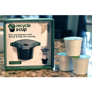 Recycle a Cup for Keurig Kcups