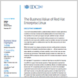 The Business Value of Red Hat Enterprise Linux