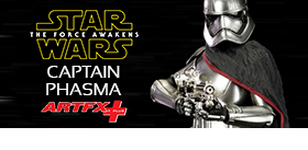 STAR WARS ARTFX+ CAPTAIN PHASMA