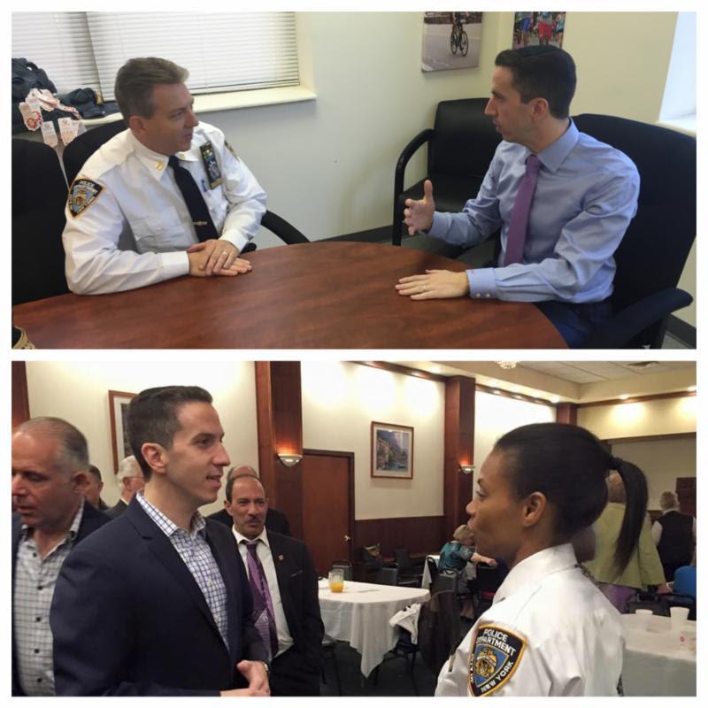 NYPD Captain Fey Holmes 100th 106th Precinct Rockaway Howard Beach Public Safety