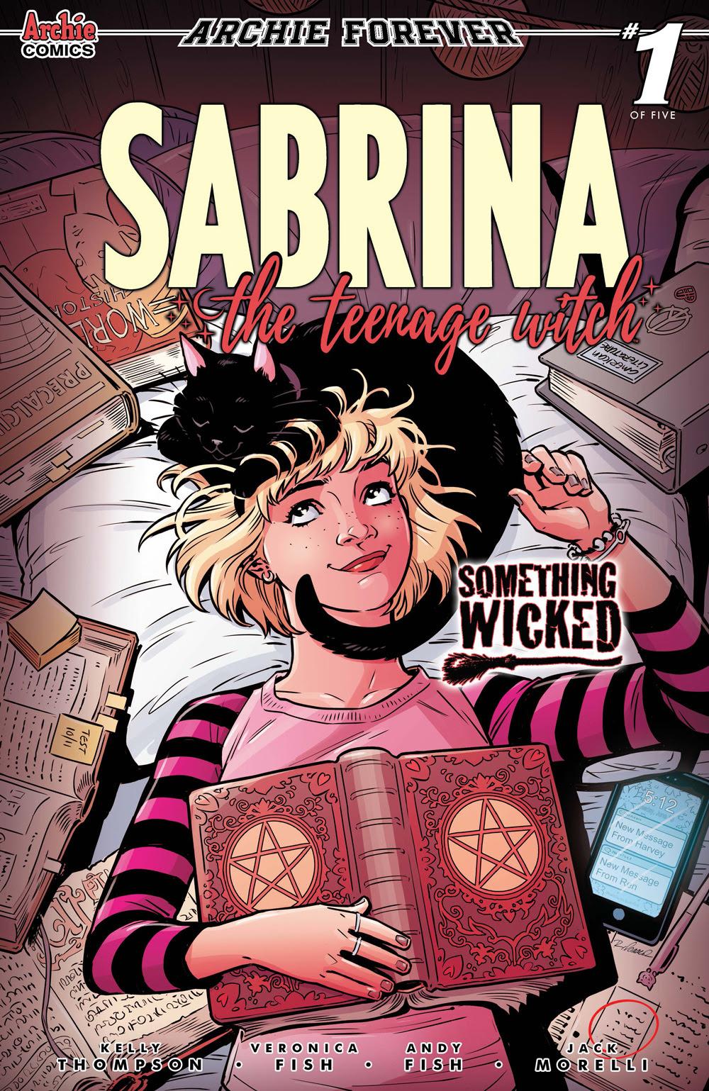 SABRINA: SOMETHING WICKED #1: CVR C Isaacs