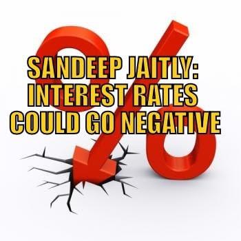 Interest rates negative