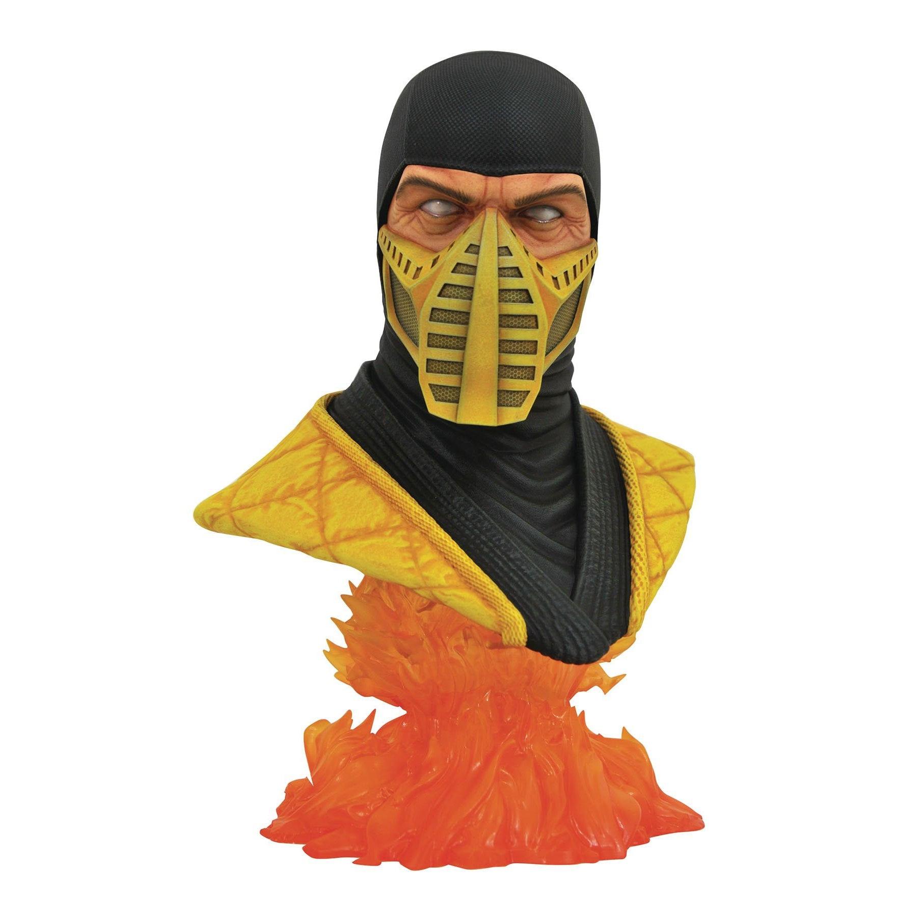 Image of Mortal Kombat 11 Legends in 3D - Scorpion 1/2 Scale Bust - JULY 2020