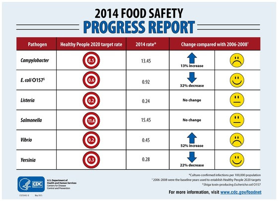 2014 food safety progress report