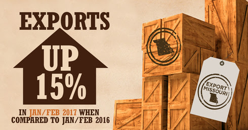 Jan-Feb 16 to Jan-Feb 17 Exports