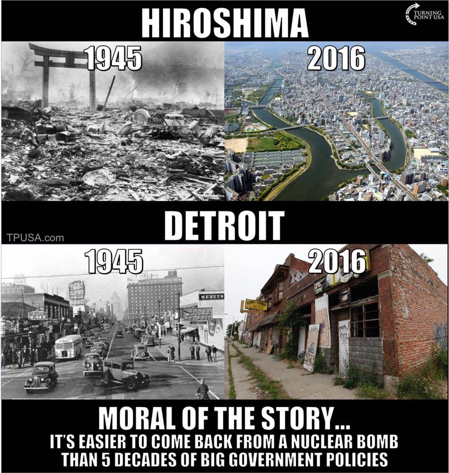 Image result for turning point usa hiroshima detroit