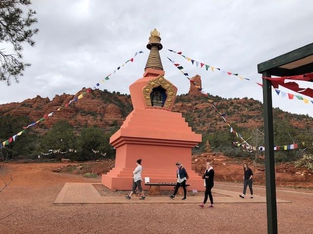Prue's Place - Stupa