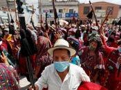 Los colectivos indígenas en resistencia señalan que la explotación minera es ilegal pues nunca se les consultó para llevarla a cabo.