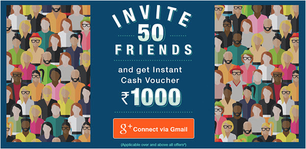 Refer & Earn Rs.1000 voucher
