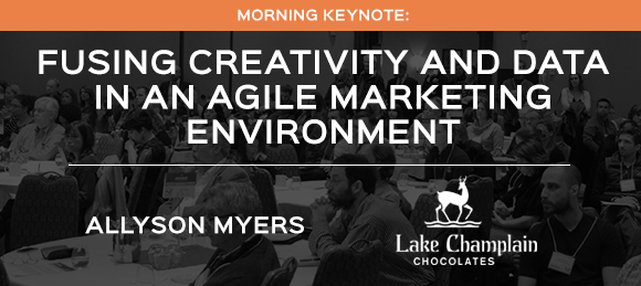 Morning Keynote : Fusing Creativity and Data in an Agile Marketing Environment<br />