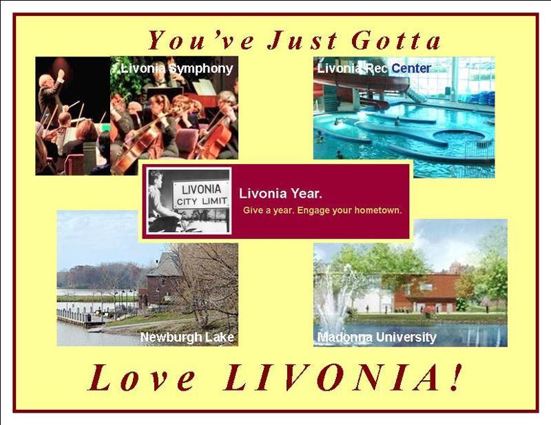 Livonia post card