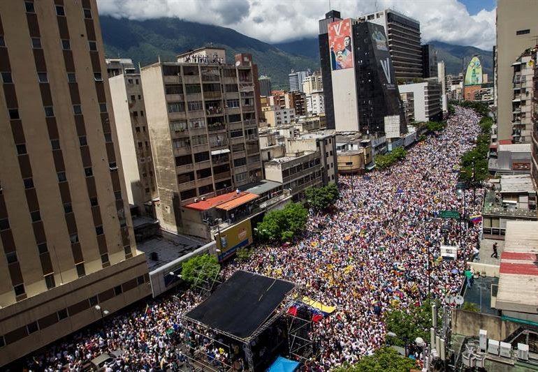 Seguid el ejemplo que Caracas dio