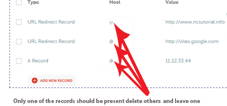 delete unecessary records