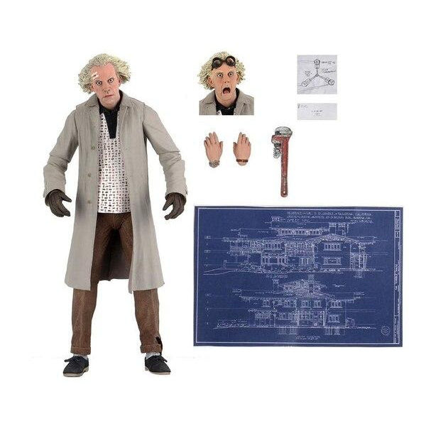 "Image of 7"" Back To The Future Ultimate Doc Brown Figure - NOVEMBER 2020"